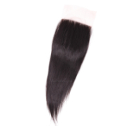 "Closure brazilian hair, straight 12""-20"" fr."